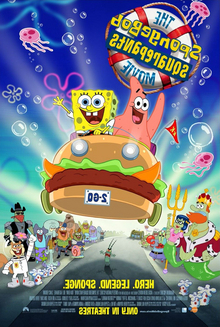Promotion for The Spongebob Squarepants Movie.