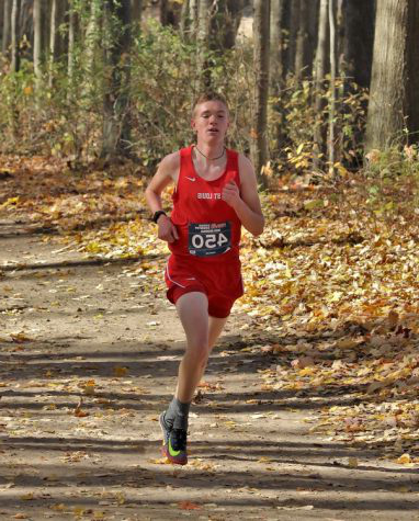 Keegan Honig helped the cross country team win its first State championship since 2005.